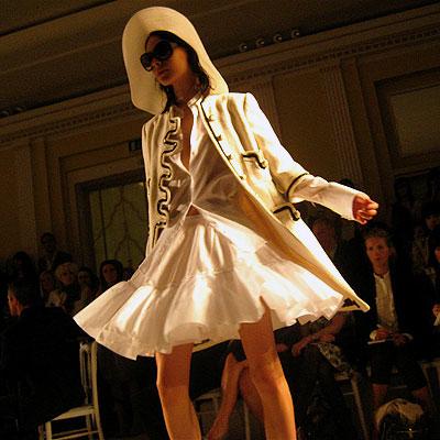 full skirt & detail jacket
